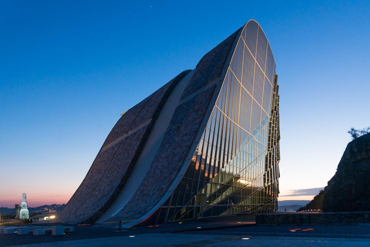 Cidade da Cultura, ícone da Galiza